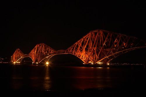 Forth Rail Bridge by Angus Duncan
