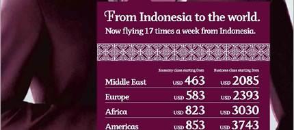Qatar Airways Promo Redirectline