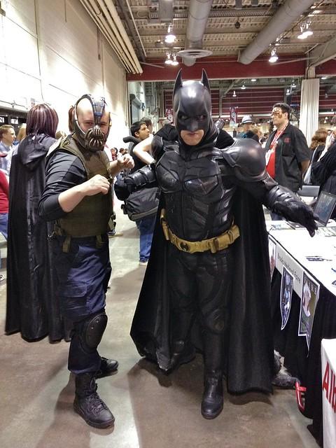Menacing duo at Calgary Comic and Entertainment Expo