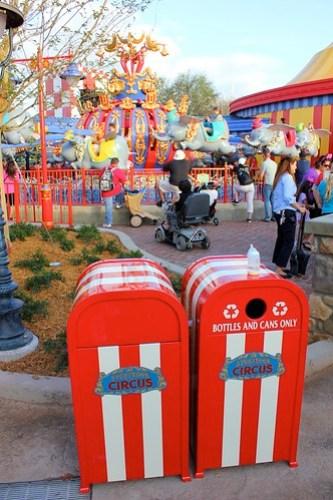 Trash Cans - Storybook Circus