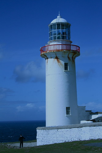 Arranmore Lighthouse in Donegal