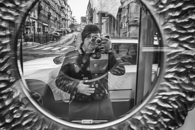Self Portrait in Vienna