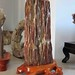 Fossil Wood Sculpture Carving for sale