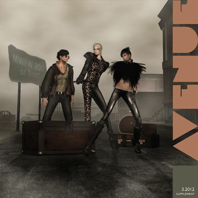 AVENUE Magazine MWFW 2012 Exclusive