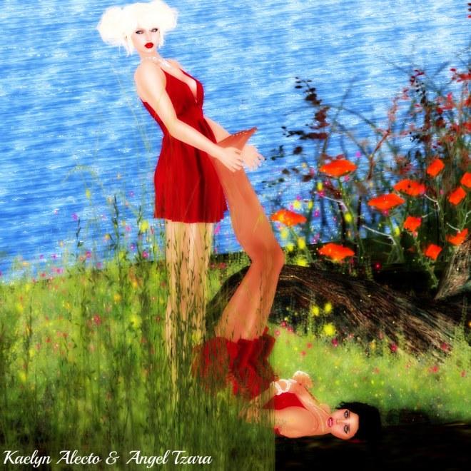 Blonde Vs Brunette - Naughty Kaelyn -p