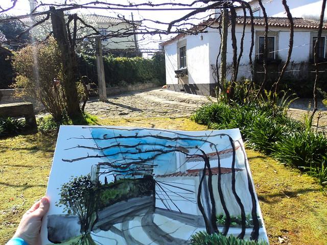 My painting spot!!