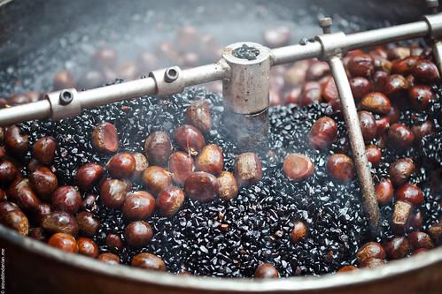 Spinning chestnuts