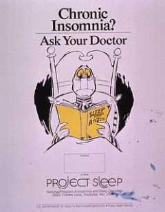 Chronic insomnia? ask your doctor