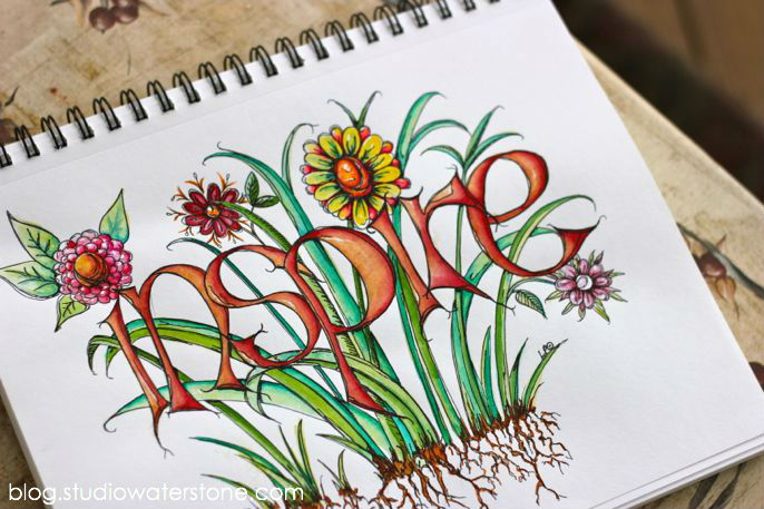 studio waterstone sketchbook