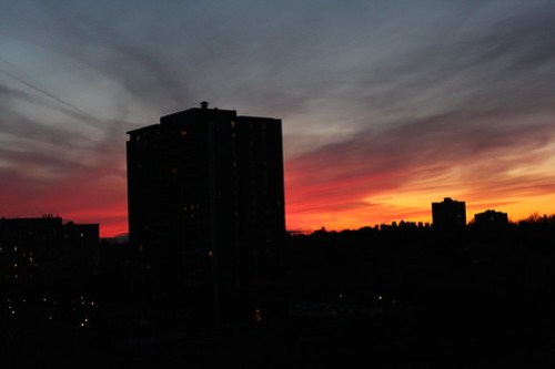 Feb 19 Toronto Sunset