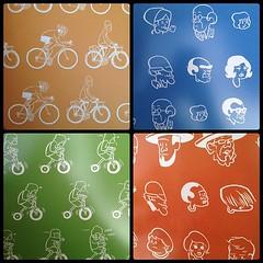Yehuda Moon & The Kickstand Cyclery - Inside Covers