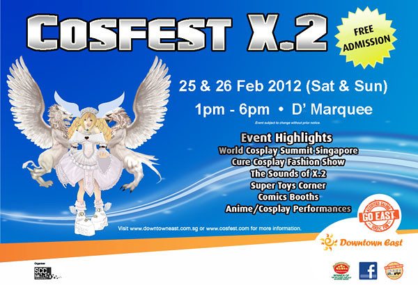 Cosfest X.2 at Downtown East