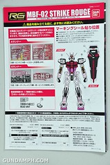 RG 1-144 Strike Rouge Gundam Plamodel EXPO Limited Version Unboxing Photos (16)