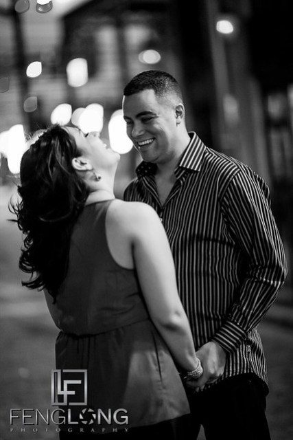 Karina & Ryan's Engagement Session | Lake Eola Park | Orlando Destination Wedding Photographer