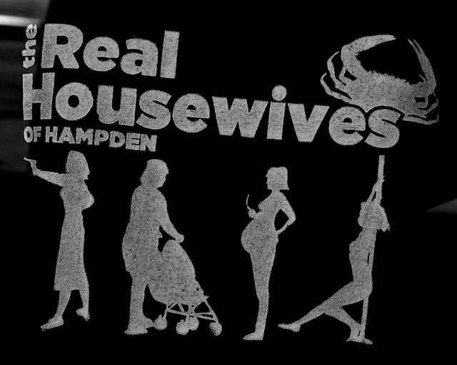 the real housewives of hampden t-shirt