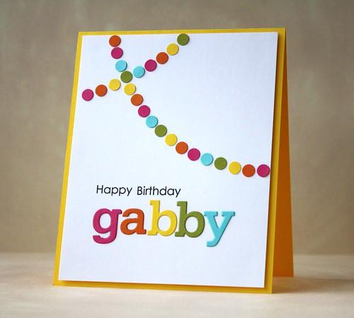 birthday card by L. Bassen