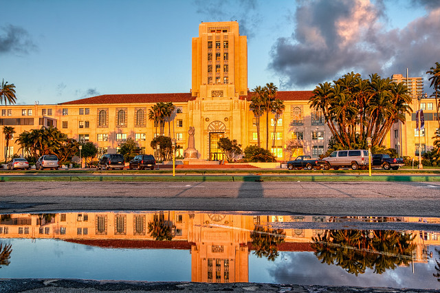 San Diego County Administration Building I Took This Photo Flickr Photo Sharing