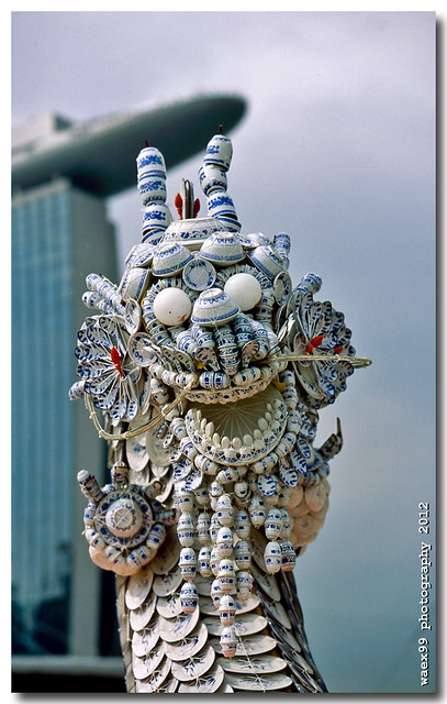 Le Dragon de Porcelaine - The china dragon