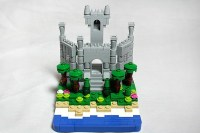 Lego Micro Scale Castle   Flickr - Photo Sharing!