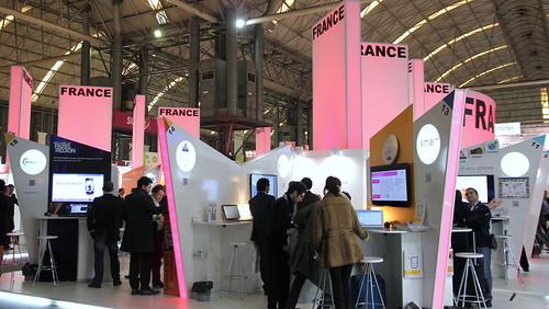 Pavillon français @ MWC2012