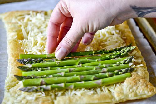 Asparagus & Gruyere Tart 13
