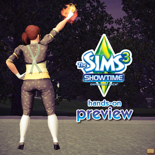 SimsNetwork - Hands on with The Sims 3 Showtime