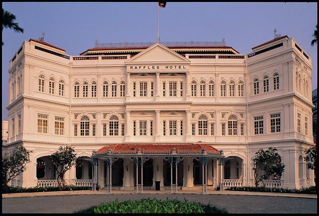 Raffles Hotel Singapore, facade