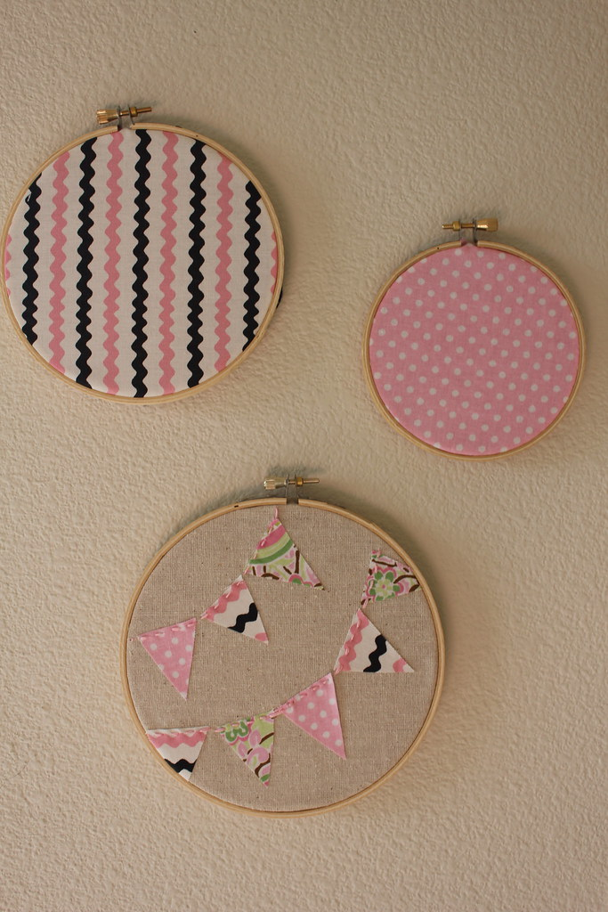 Embroidery hoop diy makaroka