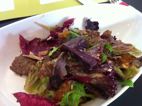 Lunch salad (half portion) at Fresco Bistro in Cork City
