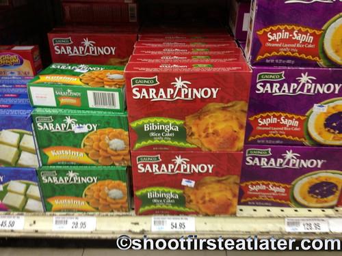 Sarap Pinoy's Bibingka mix in Unimart