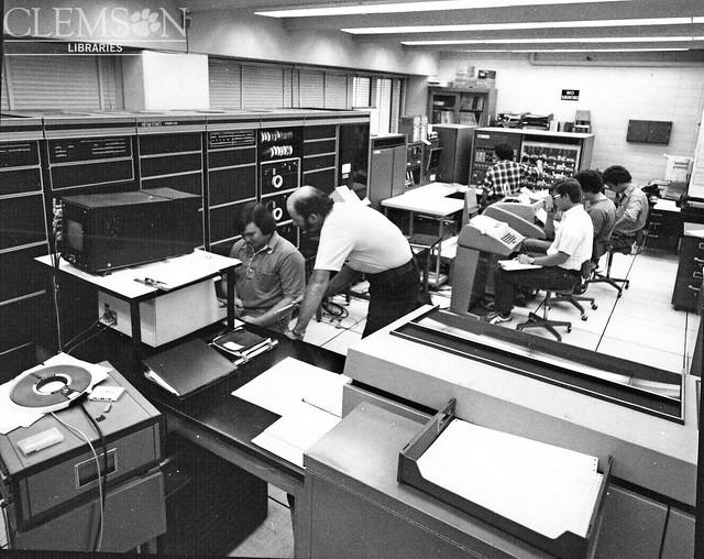Computer Center, 1976