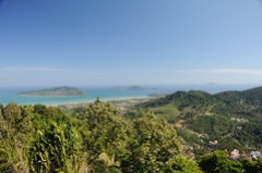 View from Big Buddha - Enjoy a Half day tour Phuket Sightseeing