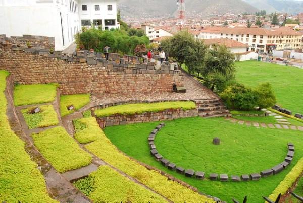 Vistas de Cusco desde el Qorikancha