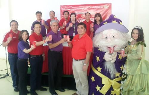 Ceremonial Toast between Coca-Cola & Enchanted Kingdom