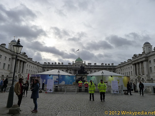 Somerset House, London Fashion Week 2012
