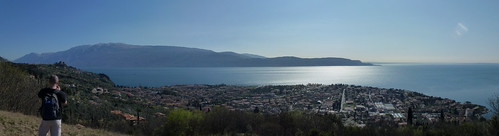 maderno - Monte baldo lake from monte maderno