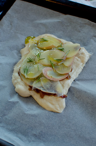 Potato and Rosemary Schiacciata