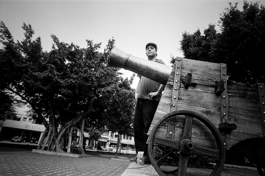 Dude with Canon shot by Nikon