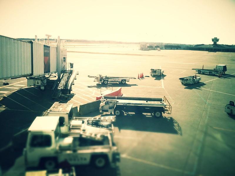 Boarding my flight home.. finally.