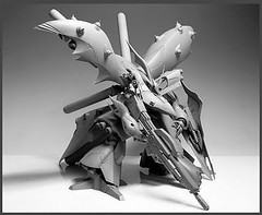Resin Kit 1100 Nightingale  Neograde Refined Version Built (6)