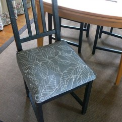 Dining Chair Cushions With Ties Lounge Dimensions Stumbles & Stitches: Feather Your Nest: