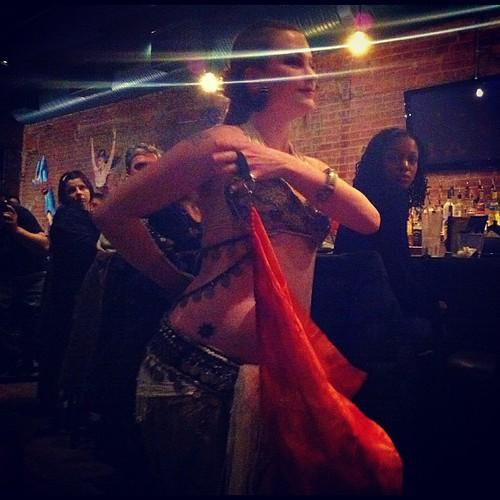 223: Claire dances.
