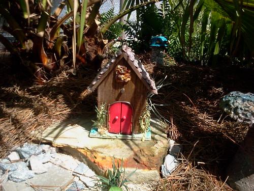kid-crafted handmade house