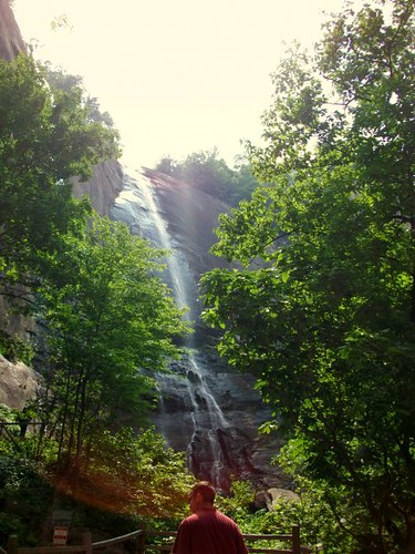 Falls at Chimney Rock