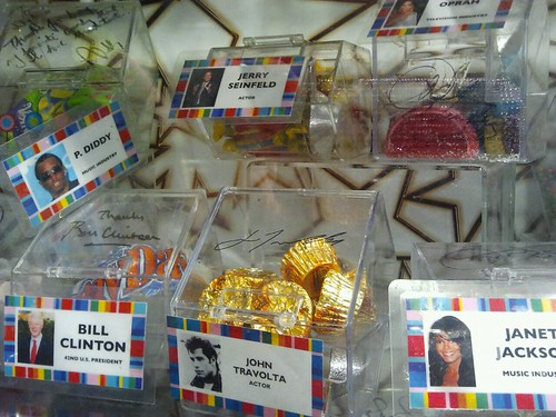 Some Celebrities and their favorite candies