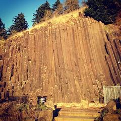 Skinner Butte Climbing Columns