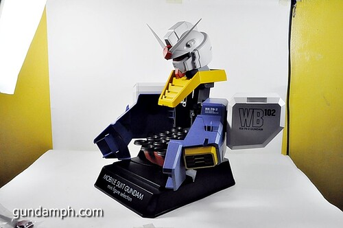 MSG RX-78-2 Bust Type Display Case (Mobile Suit Gundam) (42)