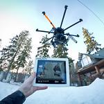 Helicam monitoring via iPad