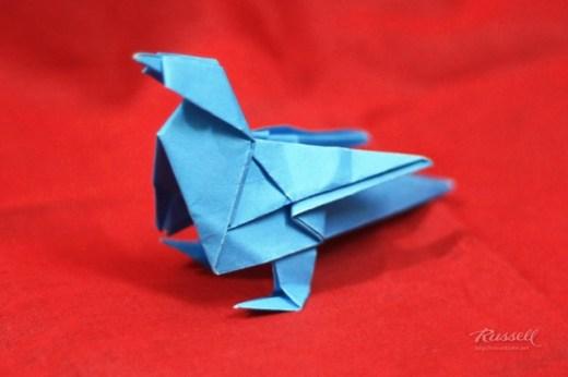 Origami Twitter Bird