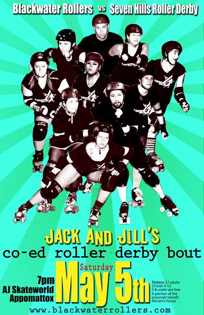 Jack and Jill's co-ed derby bout